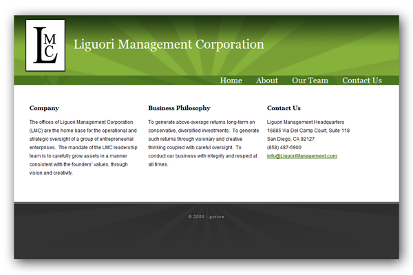 Liguori Management Corporation